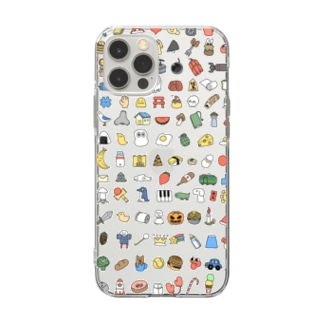 108 Soft clear smartphone cases