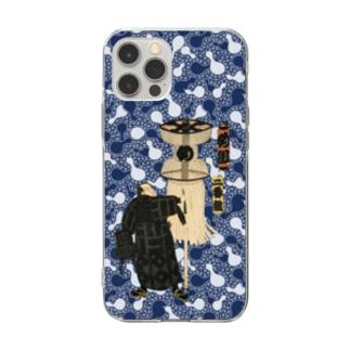 江戸の花子供遊び 二番組め組 ソフトクリアスマホケース Soft clear smartphone cases