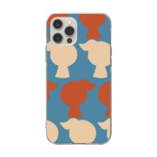 おとめ Soft clear smartphone cases