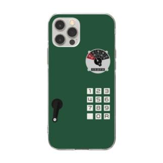 沿線電話(回線切り替えスイッチ、プッシュボタン) Soft clear smartphone cases