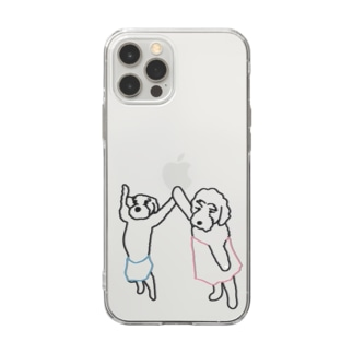 bath  time for iPhone12pro MAX Soft clear smartphone cases