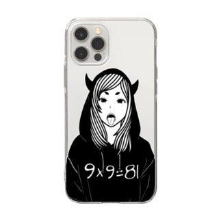 9×9=81 Soft clear smartphone cases