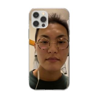 キメ顔 Soft clear smartphone cases