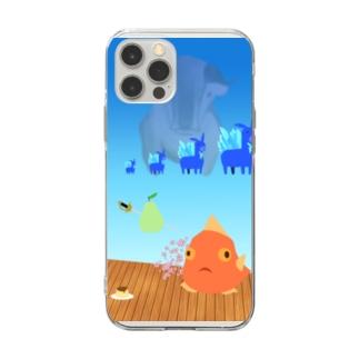 安堵 Soft clear smartphone cases