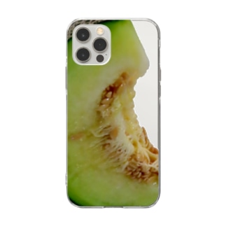 MELON-Ready to eat(T) Soft clear smartphone cases