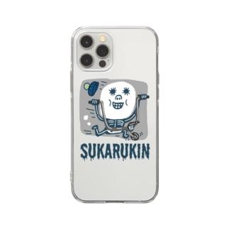 "SUKARUKIN ""バイキング・ハイ"" Soft Clear Smartphone Case"