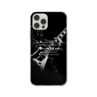 I Love Rock'n Roll Soft clear smartphone cases