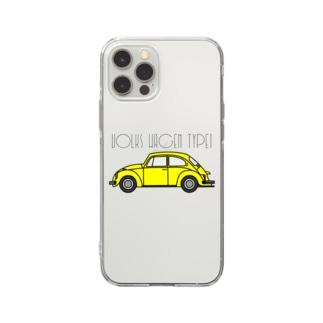 VOLKSWAGEN TYPE1 Soft clear smartphone cases