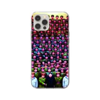 北の密 Soft clear smartphone cases