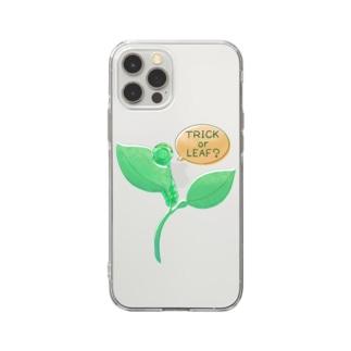 とりっくおありーふ? Soft clear smartphone cases
