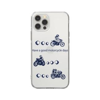モーターサイクル日記(NB) Soft Clear Smartphone Case