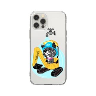 水道屋さんのAmoちゃん Soft clear smartphone cases