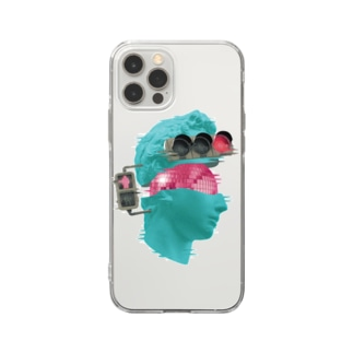 K collage01 Soft clear smartphone cases