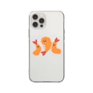 えびふらいず Soft clear smartphone cases