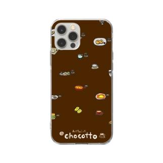 あっとちょこっとメニュー Soft clear smartphone cases