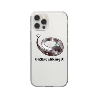 おバカリキン★ジョーカーステッカー Soft clear smartphone cases