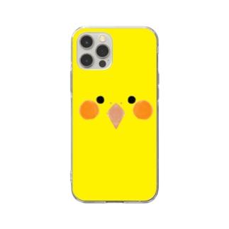 オカメインコさん Soft clear smartphone cases