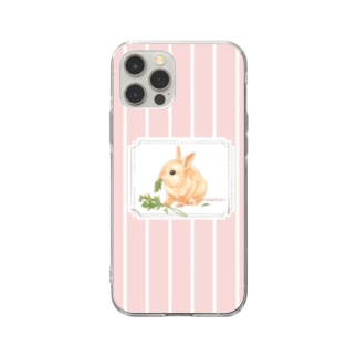 Lapin angelique Soft clear smartphone cases