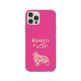 ラフコリー&デイジー Soft clear smartphone cases
