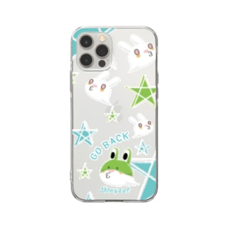 8SU1921_A それじゃB級、死神くん。 Soft clear smartphone cases