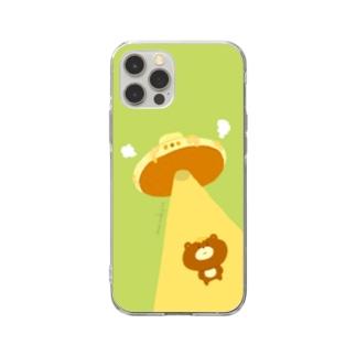 ラクガキモノ:ホットケーキUFO Soft Clear Smartphone Case