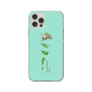 Asian swallowtail  Soft clear smartphone cases