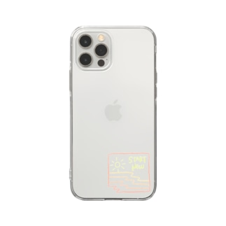start now Soft clear smartphone cases