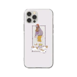 散歩 Soft clear smartphone cases
