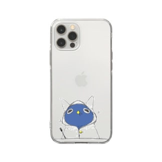 おいしい林檎 Soft clear smartphone cases