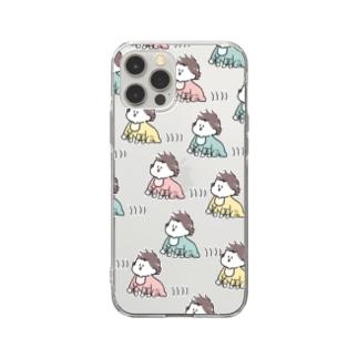 ドゥルルル Soft clear smartphone cases