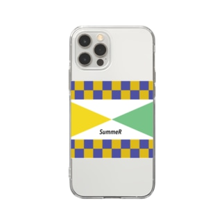 color composition 2 Soft clear smartphone cases