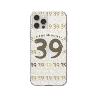 CT118 39*Thank you*Cbg Soft Clear Smartphone Case
