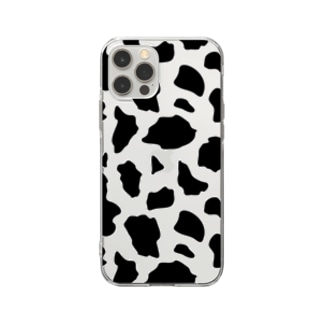 Cow - 透明 Soft clear smartphone cases