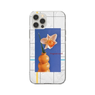 【 Fragrant scent】 Soft clear smartphone cases