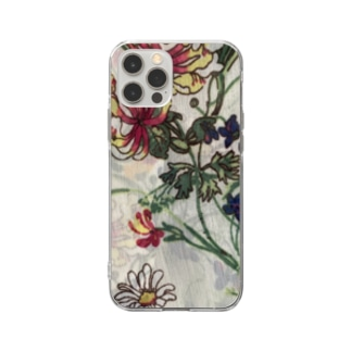 floral phone case Soft clear smartphone cases