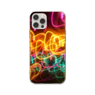 ハート Soft clear smartphone cases