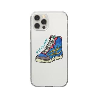 バッシュタグ Soft clear smartphone cases