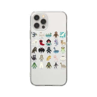 ドットUMA図鑑 Soft clear smartphone cases