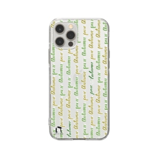 be you!ピュアオータムタイプのあなたへ Soft clear smartphone cases
