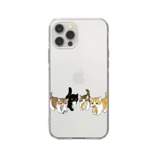 新しい家族を紹介します Soft clear smartphone cases