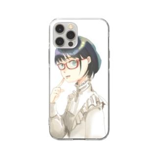 わたし Soft clear smartphone cases