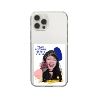 team♡ドルちゃん♡ Young forever ♡ Soft clear smartphone cases