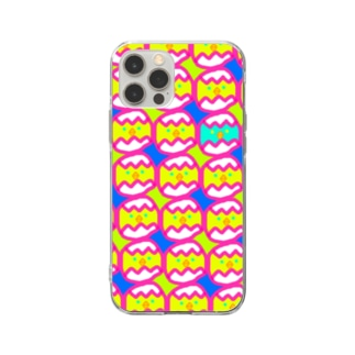 jokeboxのたまごパニック Soft clear smartphone cases