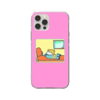 おへや(ぴんく) Soft clear smartphone cases
