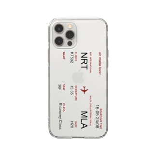 NRT to MLT Soft clear smartphone cases