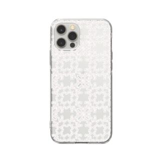 RMk→D (アールエムケード)の幾何学模様 R Soft Clear Smartphone Case