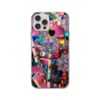 ★数量限定★ ロリポップ デコデコ星 Soft clear smartphone cases