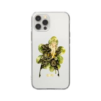 メーゼの陰目 Soft clear smartphone cases