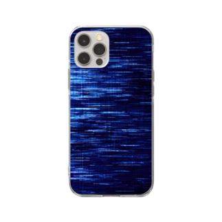 色落ちデニム Soft clear smartphone cases