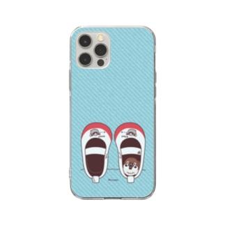 CT165 スズメがちゅん*うわばきちゅんA*スマホケース Soft clear smartphone cases